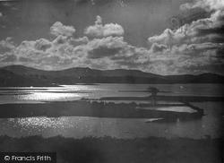 Trawsfynydd, Sunset On The Lake 1930