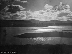 Trawsfynydd, Sunset On The New Lake 1930