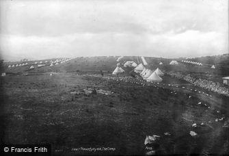 Trawsfynydd, the Camp 1904