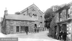 Trawsfynydd, The Square 1904