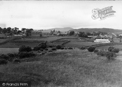 Trawsfynydd, View From The Lake c.1955