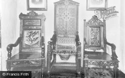 Trawsfynydd, 'yr Ysgwrn', The Chairs c.1955