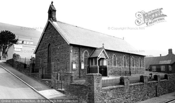 Trealaw, All Saints Church c1965