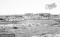 Cliff Hotel Caravan Site c.1965, Trearddur Bay