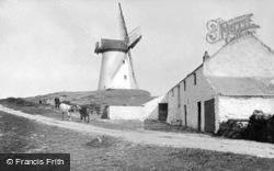 Melin Stanly Windmill c.1900, Trearddur Bay