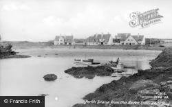 Trearddur Bay, Porth Diana From The Rocks c.1950