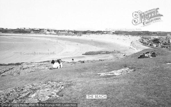 Photo of Trearddur Bay, The Beach 1956