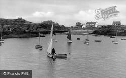 Trearddur Bay, The Creek c.1950