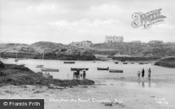 Trearddur Bay, View From The Beach c.1950