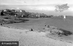Yachting c.1960, Trearddur Bay
