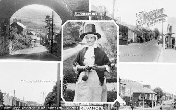 Photo of Trebanos, Composite c.1955
