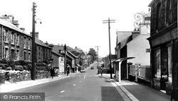Swansea Road c.1955, Trebanos