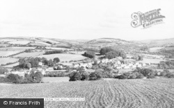 Trecastle, From The Hill c.1965
