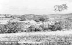 Trecastle, From The Roman Road c.1955