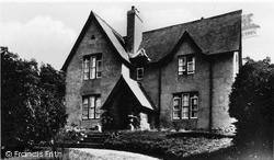 Trecastle, The Vicarage c.1940