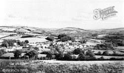 Trecastle, Village From The Hill c.1965
