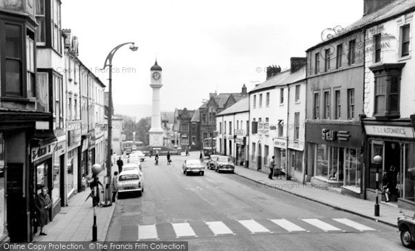 Photo Of Tredegar Castle Street C1968