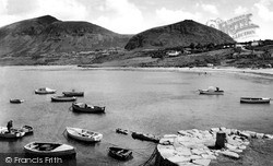 Beach And Harbour c.1960, Trefor
