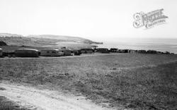 Trefor, Parsel Farm Caravan Site c.1960