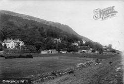 Trefriw, And Bell Vue Hotel 1892