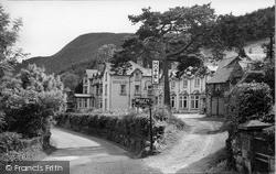 Trefriw, Belle Vue Hotel 1952