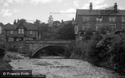 Trefriw, Bridge 1952