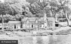 Trefriw, Crafnant Lake And Cafe c.1960