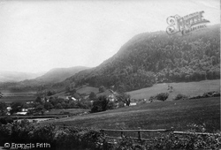 Trefriw, From The Cemetery 1892