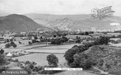Trefriw, General View 1952
