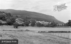 Trefriw, General View 1956