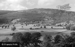 Trefriw, General View 1960