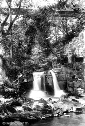 Trefriw, Glen And Fall 1892