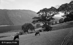 Trefriw, Lake Crafnant 1956