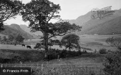 Trefriw, Lake Crafnant And Mountains 1956