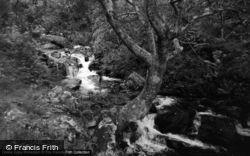 Trefriw, Lake Crafnant Falls 1956