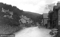 Trefriw, Street View 1892