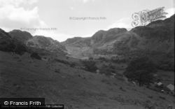 Trefriw, The Mountains And Lake Crafnant 1952