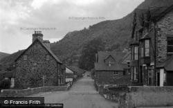 Trefriw, The Village 1952