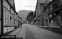 Trefriw, The Village 1956