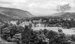 Trefriw, Town And Conway Valley 1952