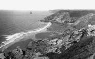 Tregardock, Beach 1938