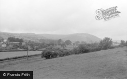Tregaron, General View 1963