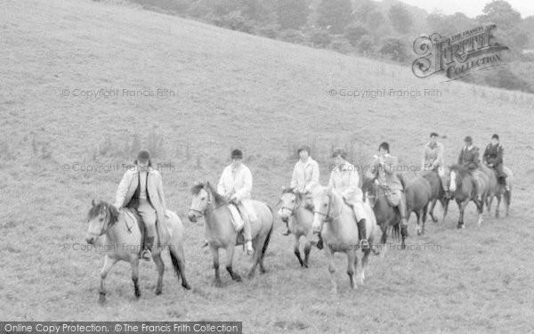 Tregaron, Pony Trekking 1963
