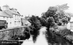 Tregaron, River Brenig From The Bridge c.1965