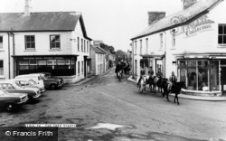 Tregaron, The Pony Trek Starts c.1965