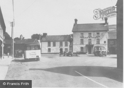 Tregaron, The Square c.1955