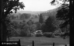 Tregaron, The View From The Pass c.1933