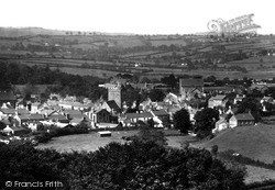 Tregaron, View From East 1933