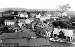 Tregaron, View From The Church Tower c.1965