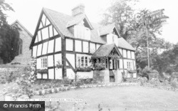 Tregynon, Church Cottage c.1955